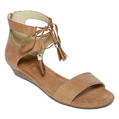 a.n.a Dillon Womens Flat Sandals