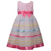 Bonnie Jean Sleeveless Party Dress - Preschool