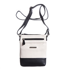 Stone And Co North/South Slip Pocket Pebble Leather Mini Crossbody Bag