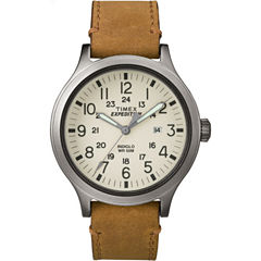 Timex Mens Brown Strap Watch-TW4B06500JT