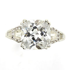 Sparkle Allure White Halo Ring