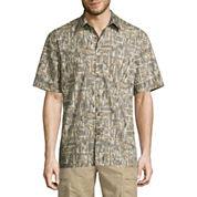Island Shores Short Sleeve Printed Camp Shirt