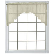 Heritage Lace® Welcome Rod-Pocket Swag Valance Pair