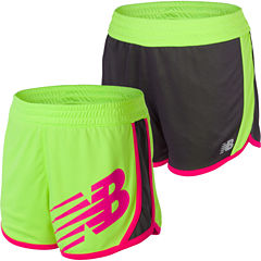 New Balance Pull-On Reversible Shorts Big Kid Girls