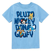 Disney Fab 4 Graphic T-Shirt-Big Kid Boys