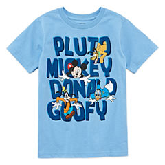 Disney Fab 4 Graphic T-Shirt-Big Kid Boys