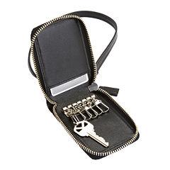 Royce® Key Case Organizer Leather Wallet