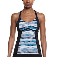 Nike Tie Dye Tankini Swimsuit Top