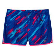 Xersion Performance Printed Running Shorts - Girls 7-16 and Plus