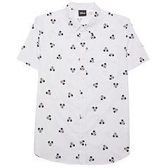 Novelty Season Mickey Mouse Toss Front Shirt
