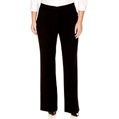 Worthington® Curvy Fit Trouser Pants - Plus