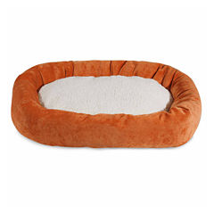 Majestic Pet Villa Collection Sherpa Bagel Dog Bed