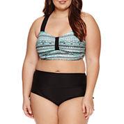 Arizona Bralette Swimsuit Top-Juniors Plus