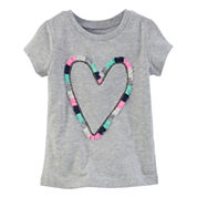 Carter's Girls Short Sleeve T-Shirt-Toddler