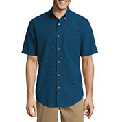 St. John`s Bay Button-Front Shirt
