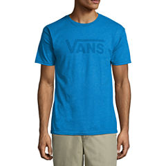 Vans Short Sleeve Vans Blu Faint Tee