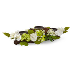 JCPenney Home™ Spring Floral 3 Candle Centerpiece
