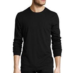 St. John's Bay® Long-Sleeve Crewneck T-Shirt