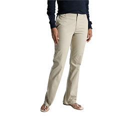 Dickies® Womens Slim Stretch Bootcut Pants - Short