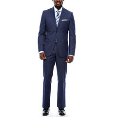 Collection by Micahel Strahan Navy Tic Suit Separates- Slim Fit