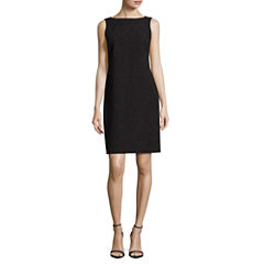 Worthington Crew Neck Sheath Dress