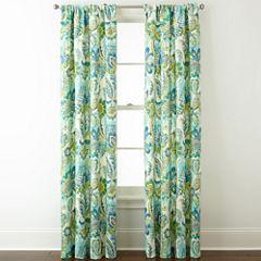 Charlotte 2-Pack Rod-Pocket Curtain Panels