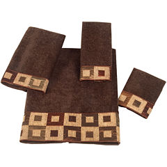 Avanti Precision Mocha Bath Towels
