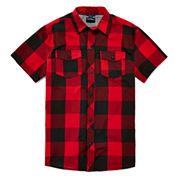 Burnside® Short-Sleeve Woven Shirt - Boys 8-20