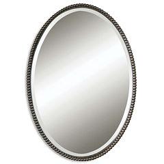 Sherise Bronze Oval Wall Mirror