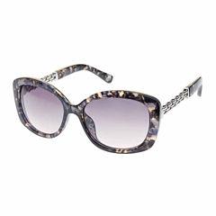 Nicole By Nicole Miller Rectangle Rectangular UV Protection Sunglasses