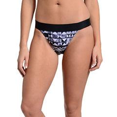 Fleetstreet Collection Geometric Bikini Swimsuit Bottom