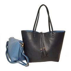 Imoshion Large Reversible Tote with Tassel