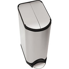 simplehuman® 30L Butterfly Step Trash Can