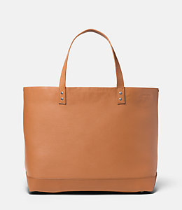 On Purpose Tan Leather Tote