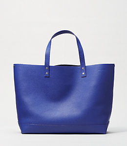 On Purpose  Leather Tote