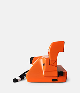 Orange Exclusive Polaroid 600 Square Camera Set