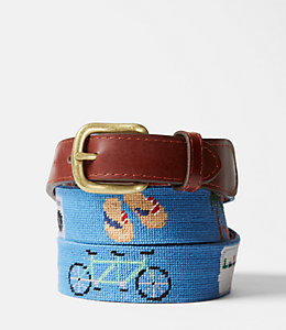 Needlepoint Sunday Funday Belt