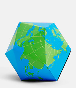 Folding Globe by Areaware