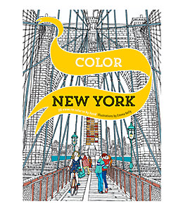 Color New York Adult Coloring Book