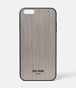 iPhone 6 Plus Grey Oak Wood Case