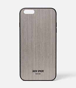 Silver Oak Wood iPhone 6 Plus Case