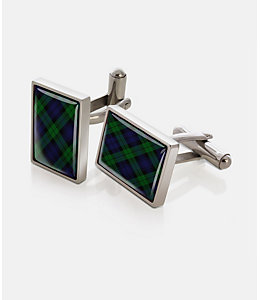 M-Clip® Black Watch Cufflinks