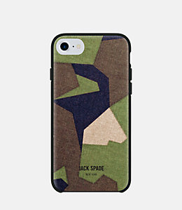 iPhone 7 Camo Green Case