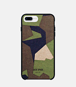 iPhone 7/6/6s Plus Camo Green Case