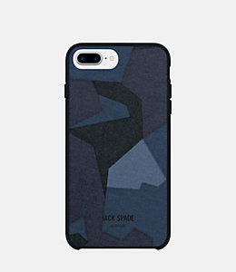 iPhone 7 Plus Camo Navy Case