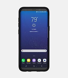 Samsung Galaxy S8+ Graph Check Printed Clear Case
