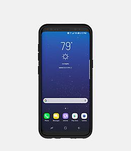 Samsung Galaxy S8 Graph Check Printed Clear Case