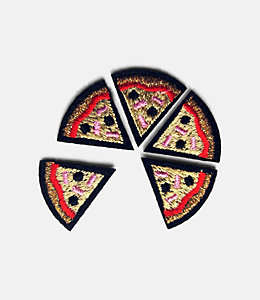 Macon & Lesquoy Pizza Slices Patch