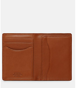 Mill Leather Vertical Flap Wallet
