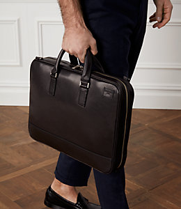 Fulton Leather Darrow Brief